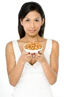 Nuts are foods that lower cholesterol